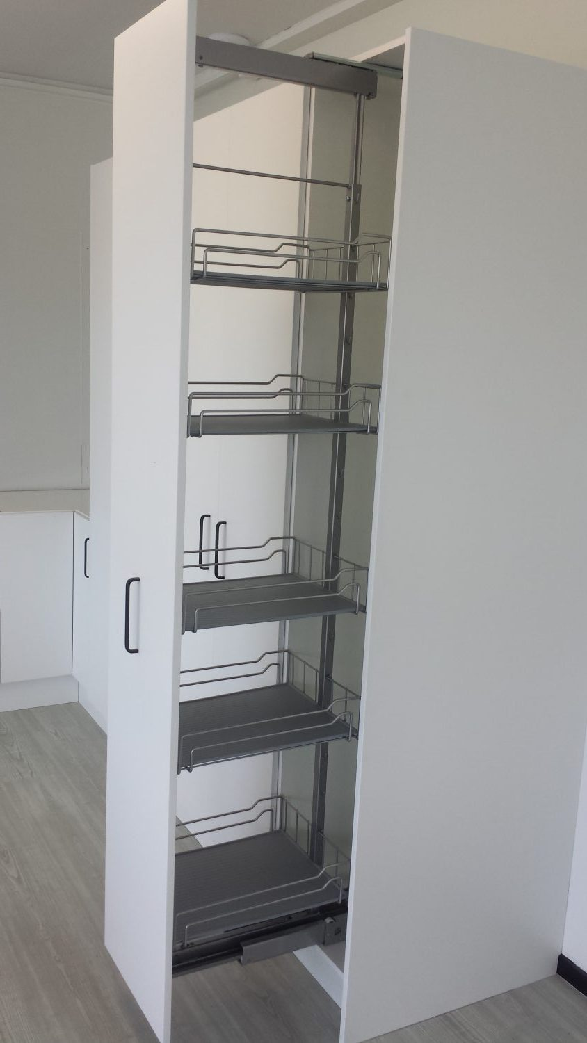Tall Pull Out Pantry 400mm Wide Incredible Kitchen Company