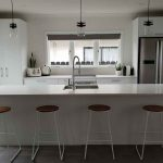 Galley Island – 4.5×2.6m White Kitchen